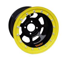 "Aero Wheels - Aero 33 Series Beadlock Wheels - Aero 33 Series 13"" x 7"" - 4 x 4.25"""