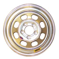 "Aero Wheels - Aero 50 Series Rolled Wheels - Aero 50 Series 15"" x 10"" - 5 x 5"""
