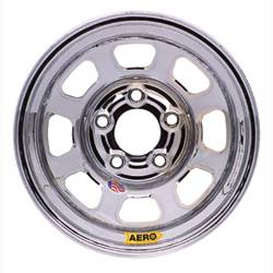 "Aero Wheels - Aero 51 Series Spun Wheels - Aero 51 Series 15"" x 8"" - 5 x 5"""
