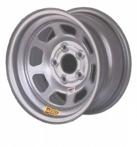 "Aero Wheels - Aero 51 Series Spun Wheels - Aero 51 Series 15"" x 10"" - 5 x 5"""