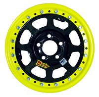 "Aero Wheels - Aero 53 Series Rolled Beadlock Wheels - Aero 53 Series 15"" x 10"" - 5 x 5"""