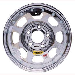 "Aero Wheels - Aero 53 Series IMCA Beadlock Wheels - Aero 53 Series 15"" x 8"" - 5 x 4.75"" (GM)"