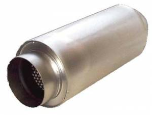Mufflers and Components - Howe Mufflers - 2 Into 1 Mufflers