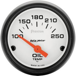 Electric Oil Temp Gauges