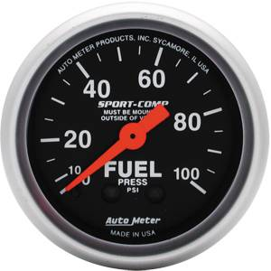 Gauges - Fuel Pressure Gauges - Mechanical Fuel Pressure Gauges