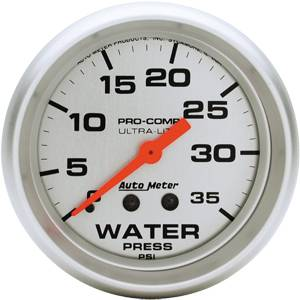 Mechanical Water Pressure Gauges