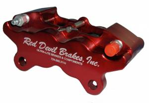 Brake Calipers - Red Devil Ultra-Lite Calipers - Ultra Lite Inboard Sprint Calipers - Radial Mount