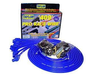 Ignition & Electrical System - Spark Plug Wires - Taylor 409 Pro Race Spark Plug Wire Sets