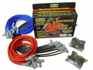 Ignition & Electrical System - Spark Plug Wires - Taylor ThunderVolt 8.2mm Spark Plug Wire Sets