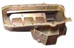 Oil Pans - Wet Sump - SB Chevy Oil Pans - C-Line SBC Oil Pans