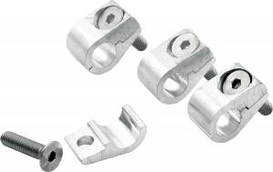 Hose & Fitting Accessories - Line Clamps - Aluminum Line Clamps