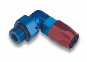 Hose Ends - Earl's Swivel-Seal Hose Ends - Earl's 90° Swivel-Seal AN O-Ring Boss Hose Ends