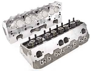 Cylinder Heads - Aluminum Cylinder Heads - SB Chevy - Brodix Aluminum Heads - SBC