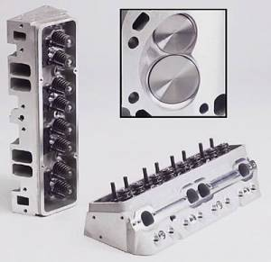 Cylinder Heads - Aluminum Cylinder Heads - SB Chevy - Trick Flow Aluminum Heads - SBC