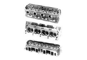 Cylinder Heads - Cast Iron Cylinder Heads - SB Ford - Ford Racing Cast Iron Heads - SBF