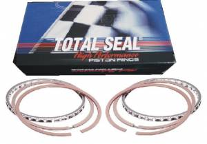 Pistons & Piston Rings - Piston Rings - Total Seal Gapless AP Steel Top Ring File Fit Piston Rings