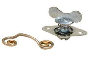 Quick-Turn Fasteners - Steel Quick-Turn Fastener Fasteners - Butterfly / Wing Head Dzus Fasteners