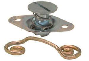 Quick-Turn Fasteners - Steel Quick-Turn Fastener Fasteners - Self Ejecting Dzus Fasteners
