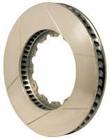"Wilwood Rotors - GT Curved Vane Rotors - Wilwood Engineering - Wilwood GT 48 Curved Vane Rotor - RH - 12 Bolt - 1.38"" Width - 12.72"" Diameter x 6.75"" Bolt Circle - .251 Hole - 18 lbs."