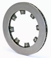 "Wilwood Rotors - Ultralite Straight Vane Rotors - Wilwood Engineering - Wilwood Ultralite HP 32 Vane Rotor - .810"" Width - 12.19"" Diameter - 8 x 7.62"" Bolt Circle - 5/16""-24 Hole - 8.9 lbs."