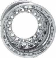 """Weld Wide 5 XL Aluminum Beadlock Wheel - 15"""" x 14"""" - 5"""" Back Spacing"""