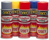 Paint - High Temp Paint - VHT - VHT Flame Proof Coating - Flat Silver - 11 oz. Aerosol Can