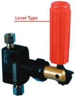 "Master Cylinders-Boosters and Components - Brake Proportioning Valves - Tilton Engineering - Tilton Brake Proportioning Valve - Lever Type - -03 AN Male & 3/16"" Inverted Flare Ports"