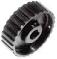 Oil Pump Components - Oil Pump Pulleys - Gilmer - Stock Car Products - Stock Car Products Hard Anodized Aluminum Dry Sump Pump Pulley - 28 Tooth