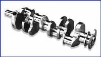 Crankshafts - Cast Crankshafts - SB Chevy - Scat Enterprises - Scat Stock Replacement Cast Steel Crankshaft - SB Chevy 350, Early Model w/ 2 Pc. Rear Seal