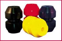 Torque Link Parts & Accessories - Torque Link Bushings - QuickCar Racing Products - QuickCar Black Biscuit - Hard