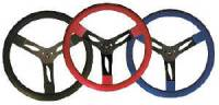 """Steering Components - QuickCar Racing Products - QuickCar Steel Steering Wheel 15"""" - Black"""