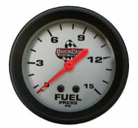 Sprint Car & Open Wheel - QuickCar Racing Products - QuickCar Fuel Pressure Gauge - 0-15 PSI
