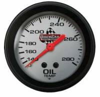 Gauges & Gauge Panels - Oil Temperature Gauges - QuickCar Racing Products - QuickCar Oil Temp Gauge - 140-280° F.