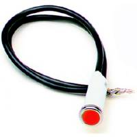 "Interior Lighting - Indicator Lights - Painless Performance Products - Painless Performance 5/16"" Red Light"