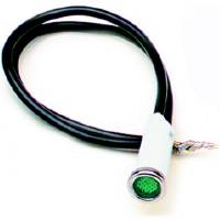 "Interior Lighting - Indicator Lights - Painless Performance Products - Painless Performance 5/16"" Green Light"