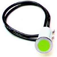 "Interior Lighting - Indicator Lights - Painless Performance Products - Painless Performance 1/2"" Green Light"