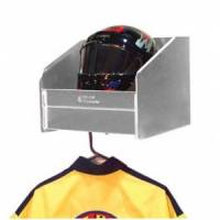 Shelves - Helmet Shelf - Pit Pal Products - Pit Pal Safety Helmet Shelf