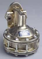 Air & Fuel System - PRO/CAM Racing Engine Components - Pro/Cam Mechanical 6-Valve Fuel Pump - SB Chevy - 7.5 PSI