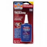 Chemicals - Thread Locker & Sealant - Permatex - Permatex® High Strength Threadlocker - Red - 36 ml Bottle