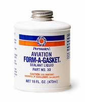 Gaskets & Seals - Gasket Sealants - Permatex - Permatex® Aviation Form-A-Gasket® Sealant - 4 oz.