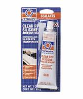 Gaskets & Seals - Gasket Sealants - Permatex - Permatex® Clear Silicone Adhesive Sealant - 3 oz. Tube
