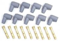 Spark Plug Wires Accessories - Boots & Terminals - MSD - MSD 90° Socket Style Distributor Boot & Terminal Kit - (Set of 9)