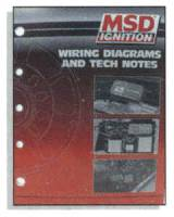 Books, Video & Software - Ignition System Books - MSD - MSD Wiring Diagrams, Tech Notes
