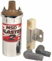 Ignition Coils - Canister Ignition Coils - MSD - MSD Chrome Blaster 2 Ignition Coil Kit
