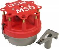 Distributors Parts & Accessories - Distributor Cap & Rotor Kits - MSD - MSD Ford V8 Distributor Cap Kit