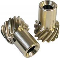 "Distributors Parts & Accessories - Distributor Gears - MSD - MSD Bronze Distributor Gear - Oversize .006"", .500"" I.D."