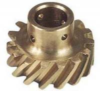 "Distributors Parts & Accessories - Distributor Gears - MSD - MSD Bronze Distributor Gear, Ford 351C, 351M, 400, 429, 460, FE, .530"" I.D."