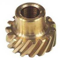 "Distributors Parts & Accessories - Distributor Gears - MSD - MSD Bronze Distributor Gear - Ford 289-302, .466"" I.D."