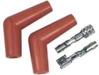 Ignition & Electrical System - MSD - MSD 115° Pro Race High Temp Spark Plug Boots & Terminals (2 Pack)