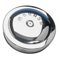"""Air & Fuel System - Moroso Performance Products - Moroso 14"""" Chrome Plated Steel Air Cleaner - 3"""" Filter - Chrome Plated Steel - Hand Polished - PCV Adapter Included"""